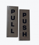 Push/Pull Door Plate (set)