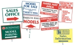Custom Stake & Lot Signs